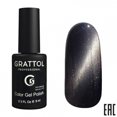 Grattol Color Gel Polish Crystal Silver
