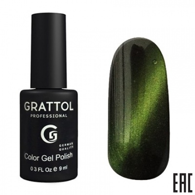 Grattol Color Gel Polish Crystal Green