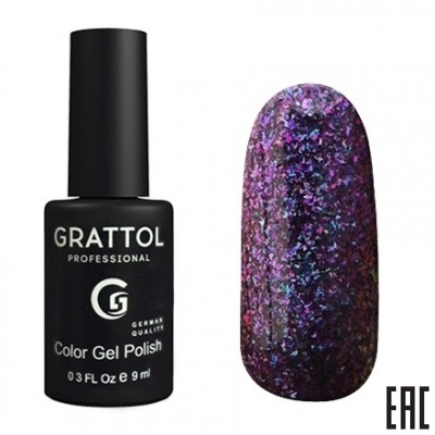 Grattol Color Gel Polish Galaxy Amethyst