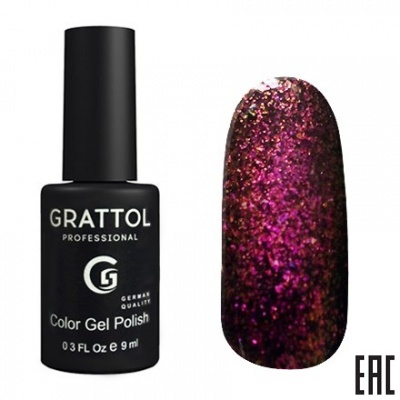 Grattol Color Gel Polish Galaxy Garnet
