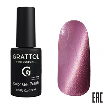 Grattol Color Gel Polish 9D Cat Eye 10