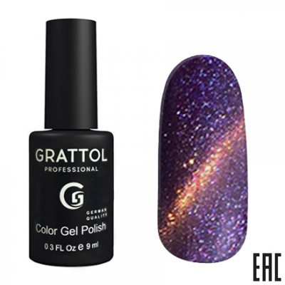 Grattol Color Gel Polish 9D Cat Eye 02