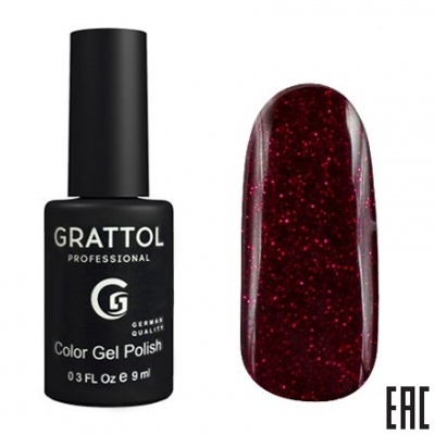 Grattol Color Gel Polish Ruby RU02