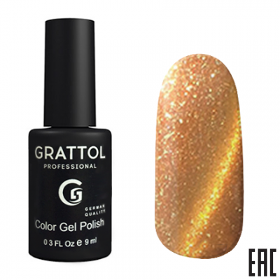 Grattol Color Gel Polish 9D Cat Eye 06