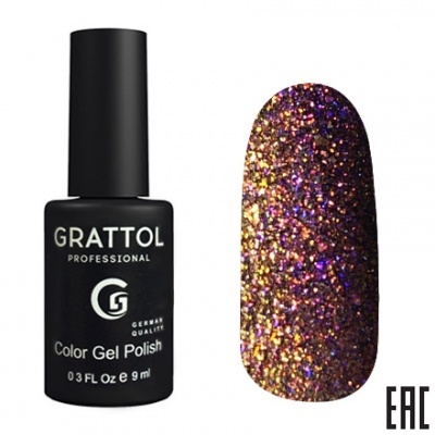 Grattol Color Gel Polish Mirage 09