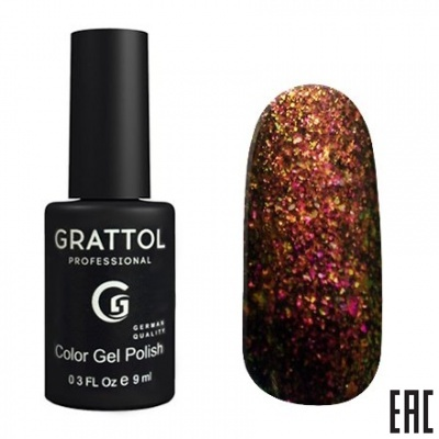 Grattol Color Gel Polish Galaxy Copper