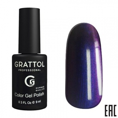 Grattol Color Gel Polish Galaxy Sapphire