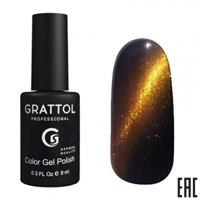 Grattol Color Gel Polish Crystal Gold