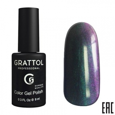 Grattol Color Gel Polish Galaxy Azurite