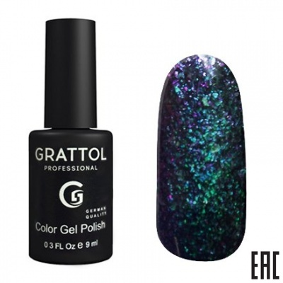 Grattol Color Gel Polish Galaxy Emerald