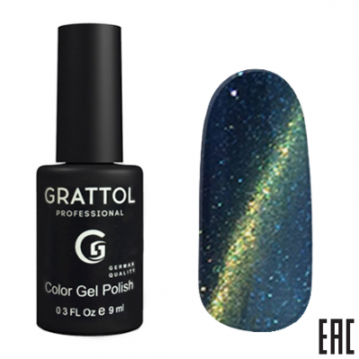 Grattol Color Gel Polish 9D Cat Eye 09