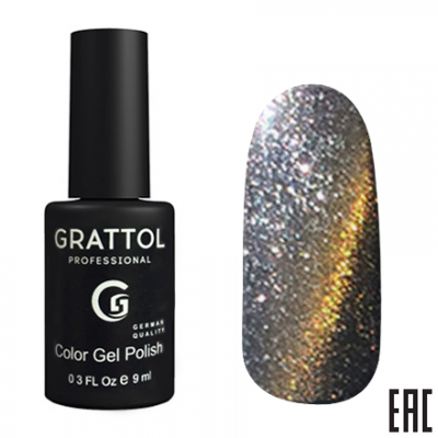 Grattol Color Gel Polish 9D Cat Eye 03