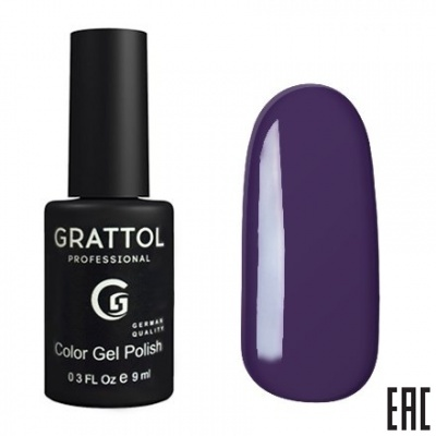 Grattol Color Gel Polish Eggplant