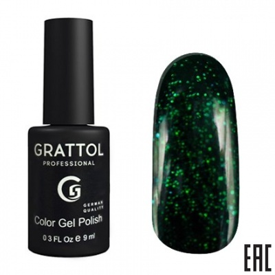 Grattol Color Gel Polish Emerald EM02