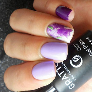 GTC012 Pastel Violet и GTC054 Dark Purple